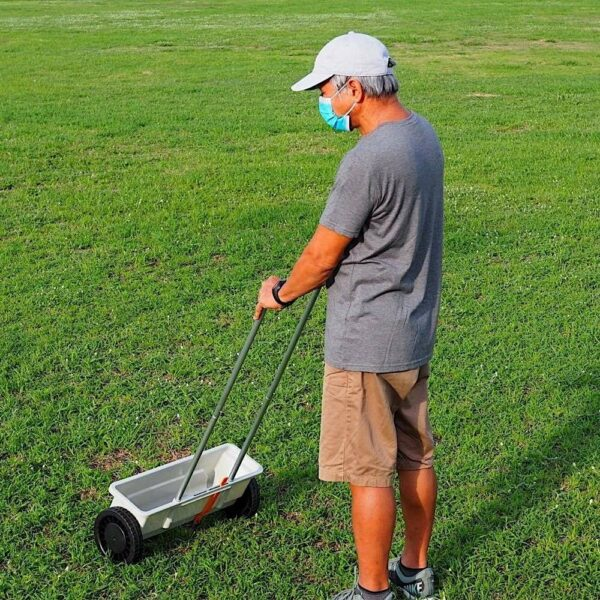 lawn seed dispenser